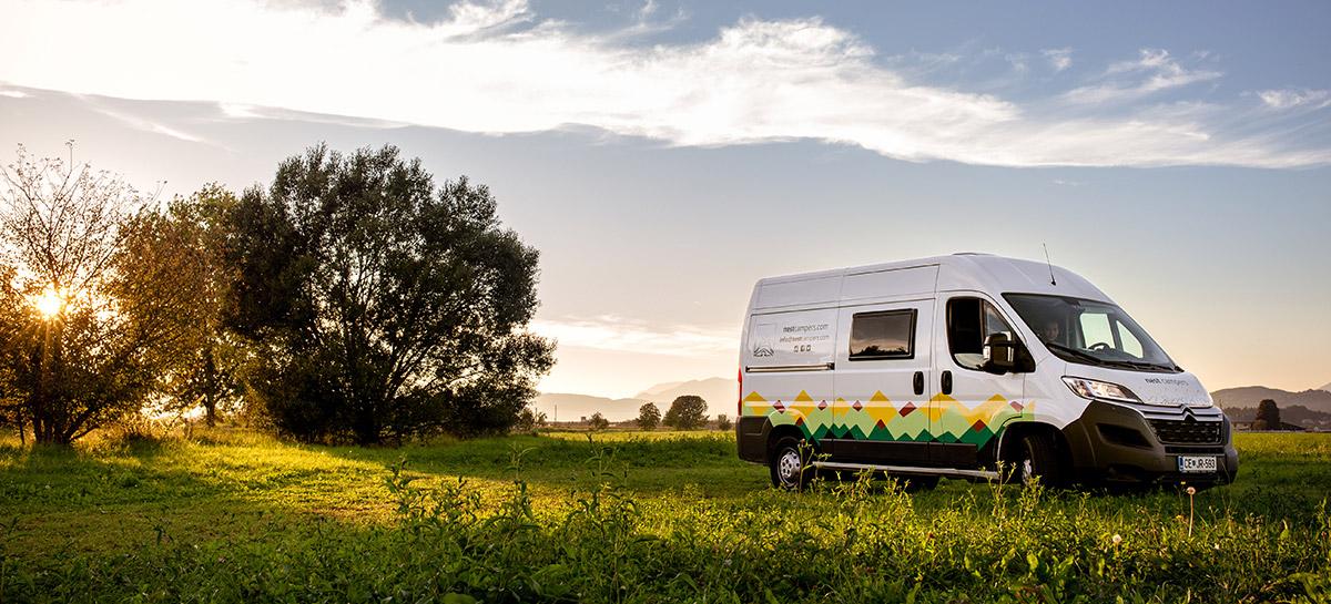 reizen door Slovenie met camper