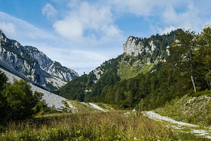 view near Zelenica Karavanken Mark Koghee 1