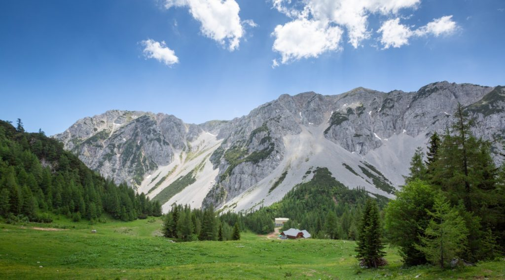 wandelen in Sloveense Alpen