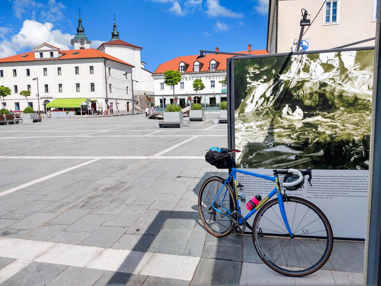 Postojna fiets