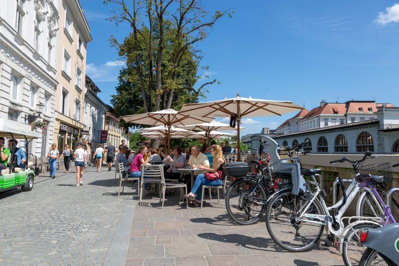 fietsvakantie Ljubljana