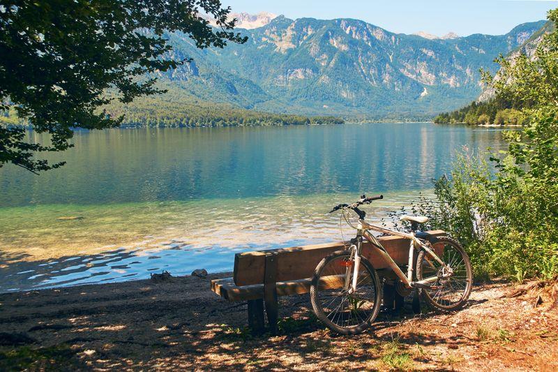fietsvakantie Julische Alpen en Bohinj meer