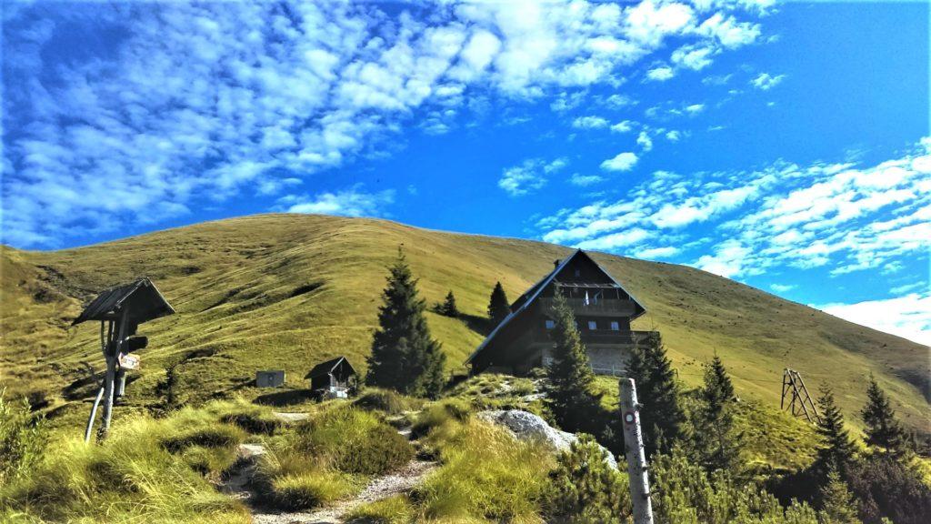 Golica huttentocht Slovenie
