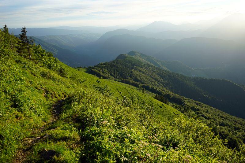 wandelen Porezen Slovenie