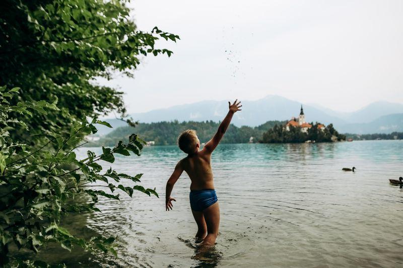 meer zwemmen Slovenie