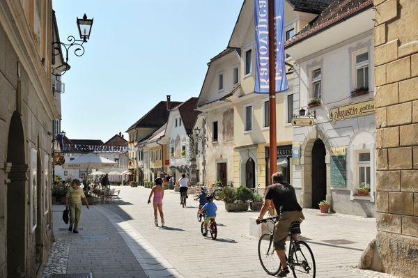 Radovljica fietsvakantie Slovenie