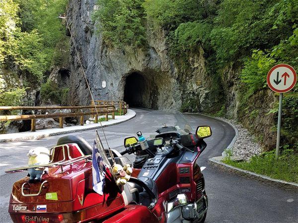 Slovenie met de moto