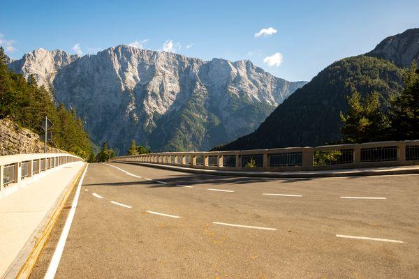 Slovenie motorreis Julische Alpen