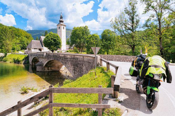 Slovenie motorreis Bohinj