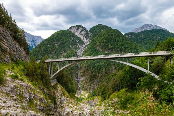 Julische Alpen motorreis Slovenie