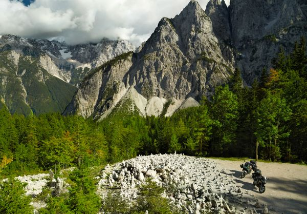 Vrsicpas motorreis Slovenie