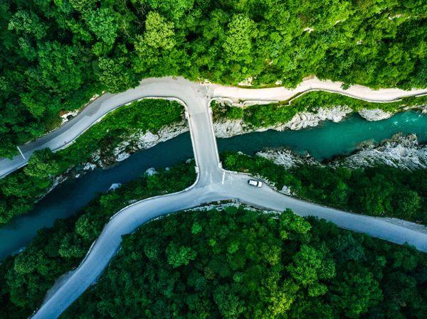 Soca motorreis Slovenie