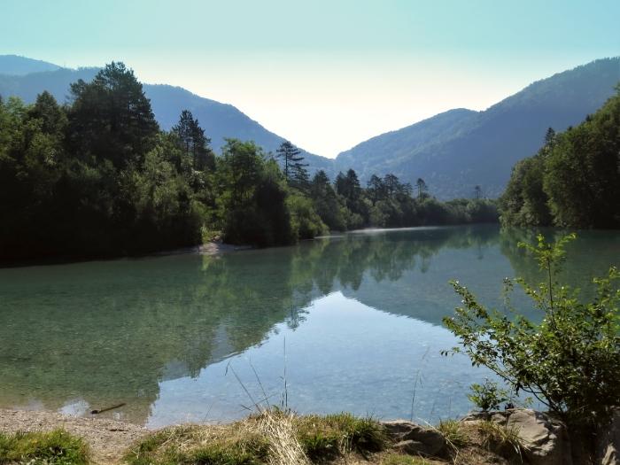 Alpe Adria Trail Soca vallei