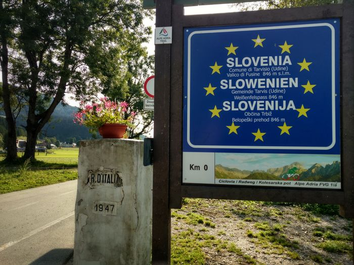 Alpe Adria Trail Slovenie