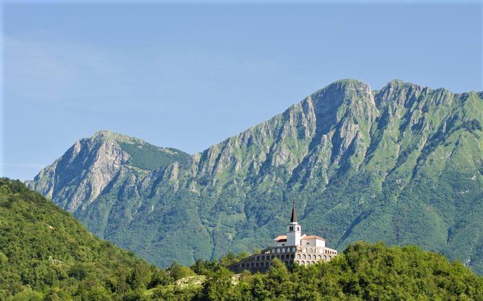 Kobarid Alpe Adria Trail Slovenie