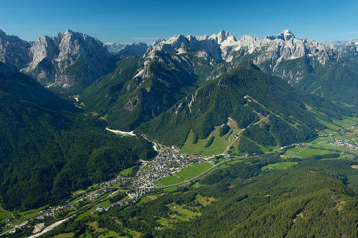 Kranjska Gora Alpe Adria Trail Slovenie