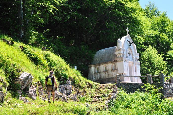 Dreznica Alpe Adria Trail Slovenie
