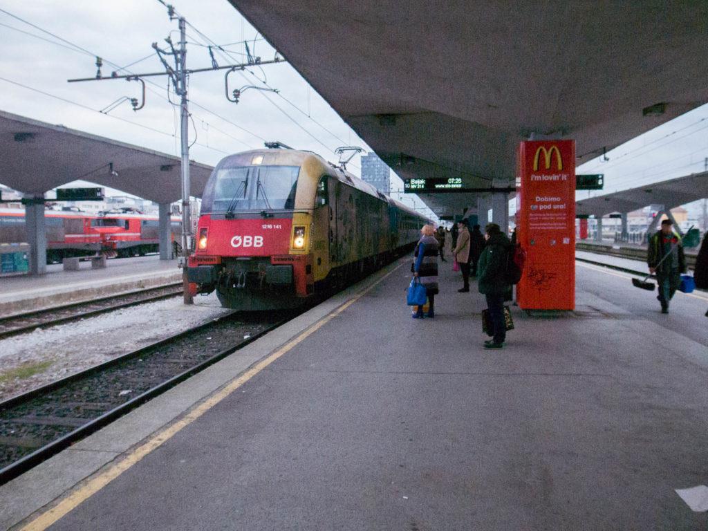 station Ljubljana