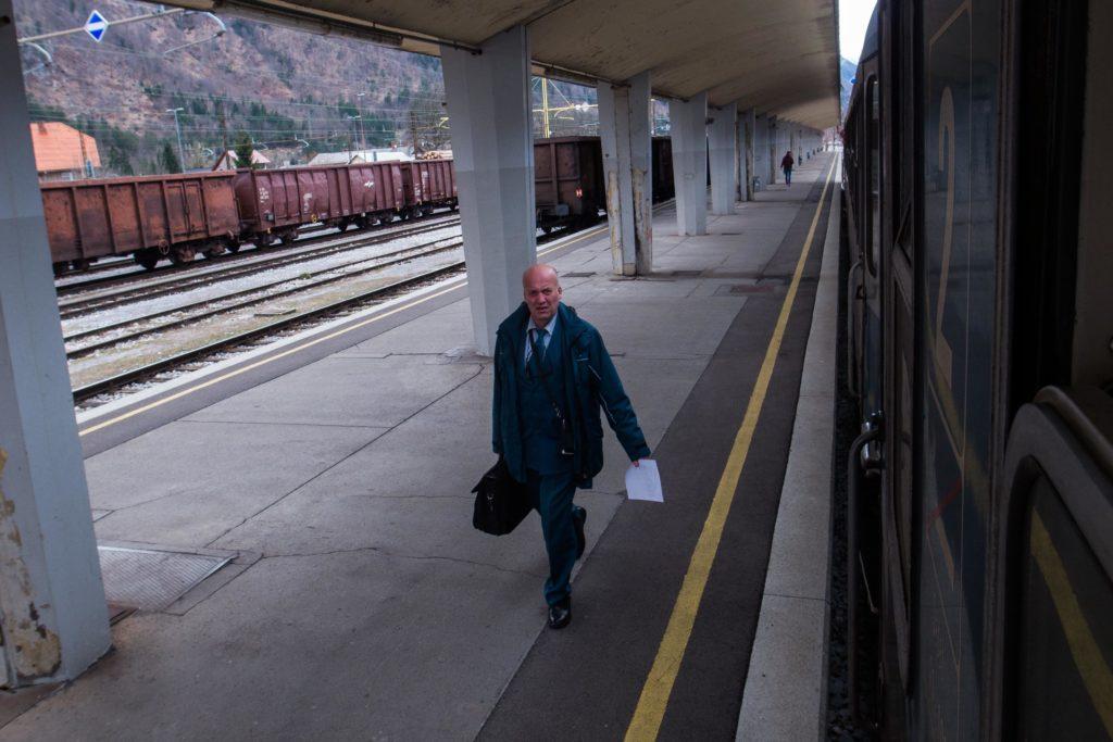 station Jesenice trein