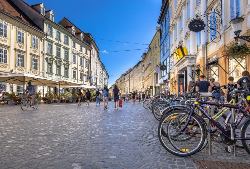 fietsen Ljubljana