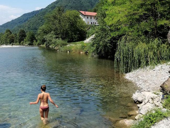zwemmen duurzaam Slovenie