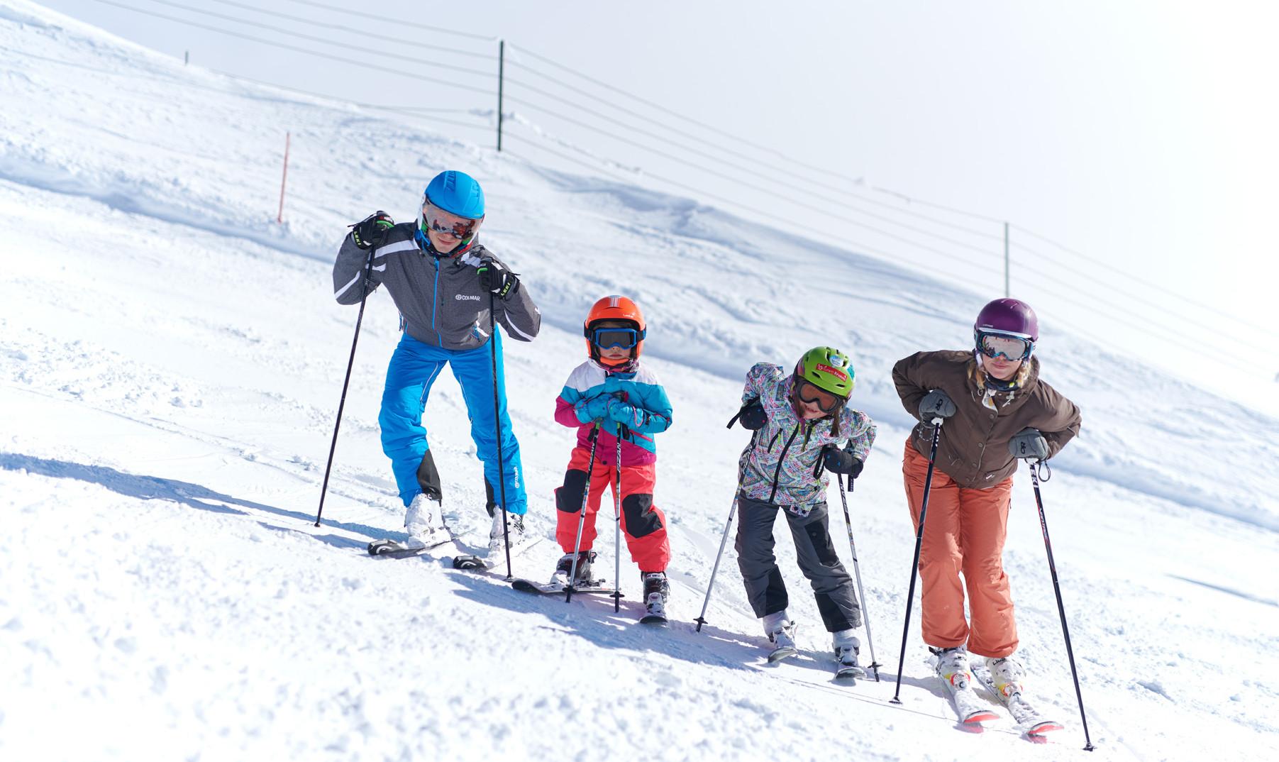 Krvavec - ski school kids