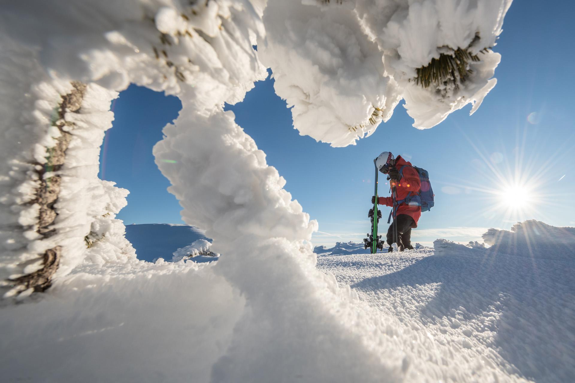Krvavec - ski touring 3