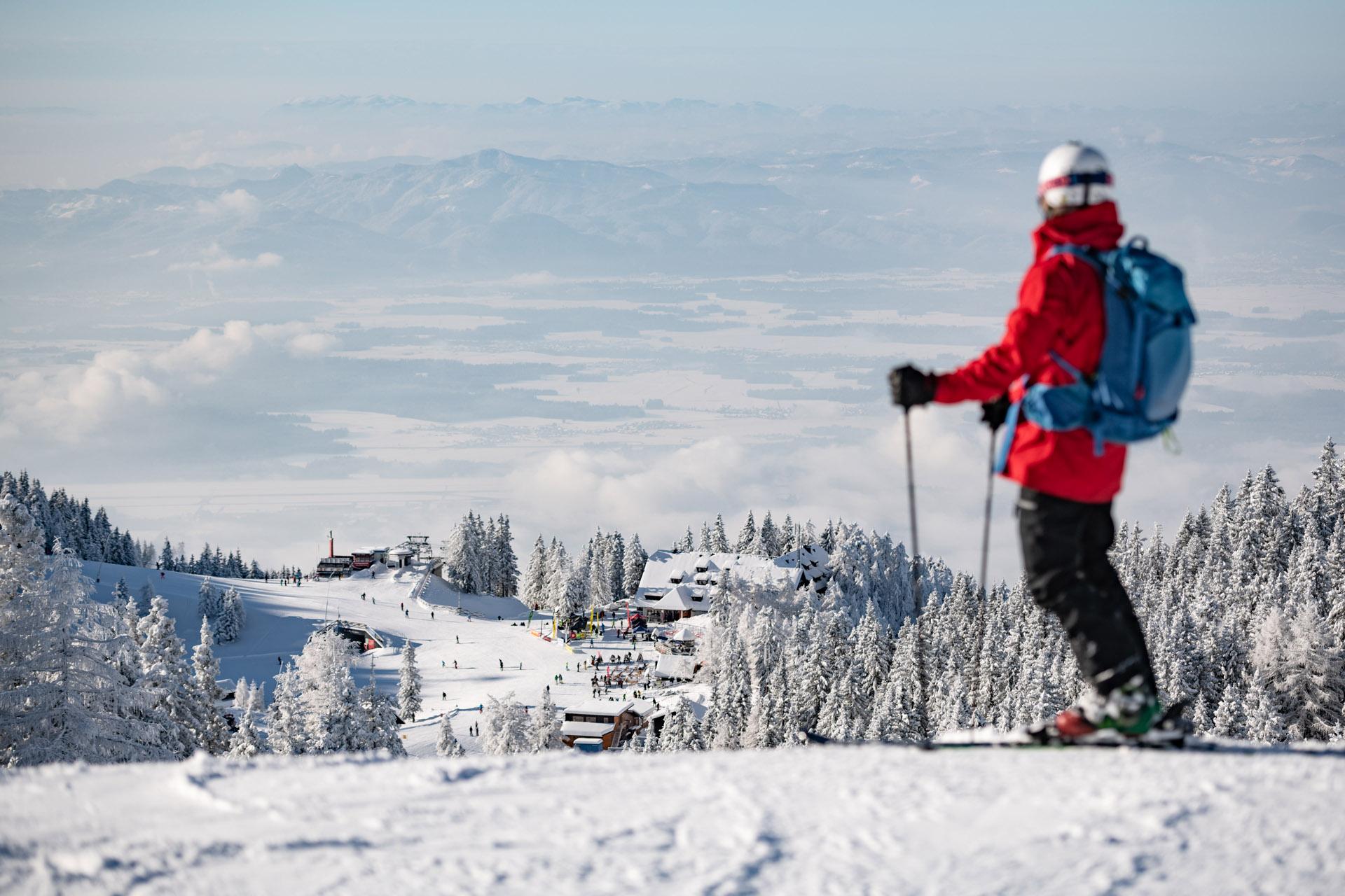 Krvavec - skiing