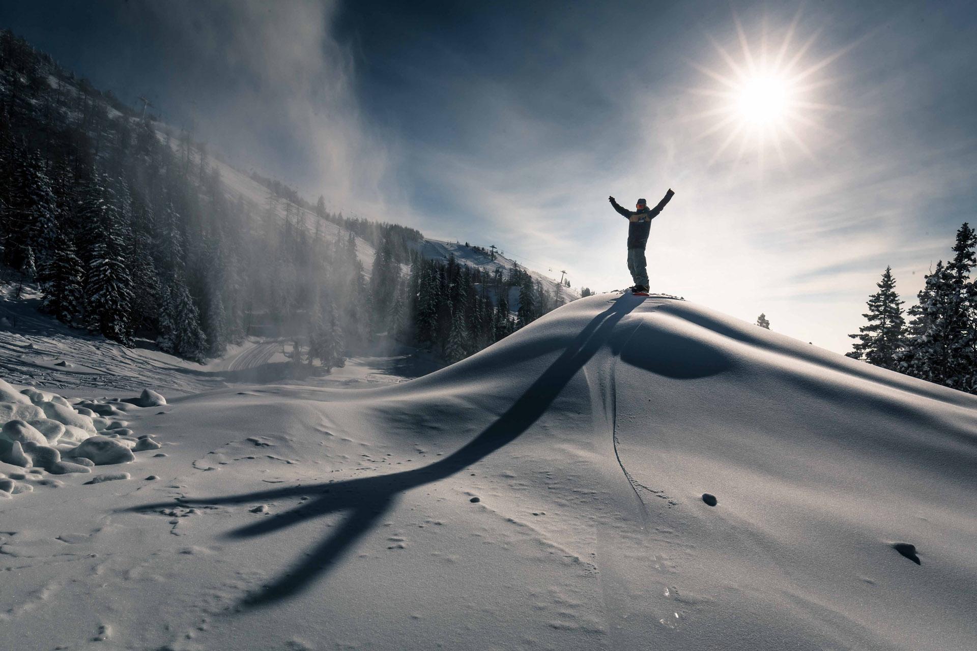 Krvavec - snow park 2