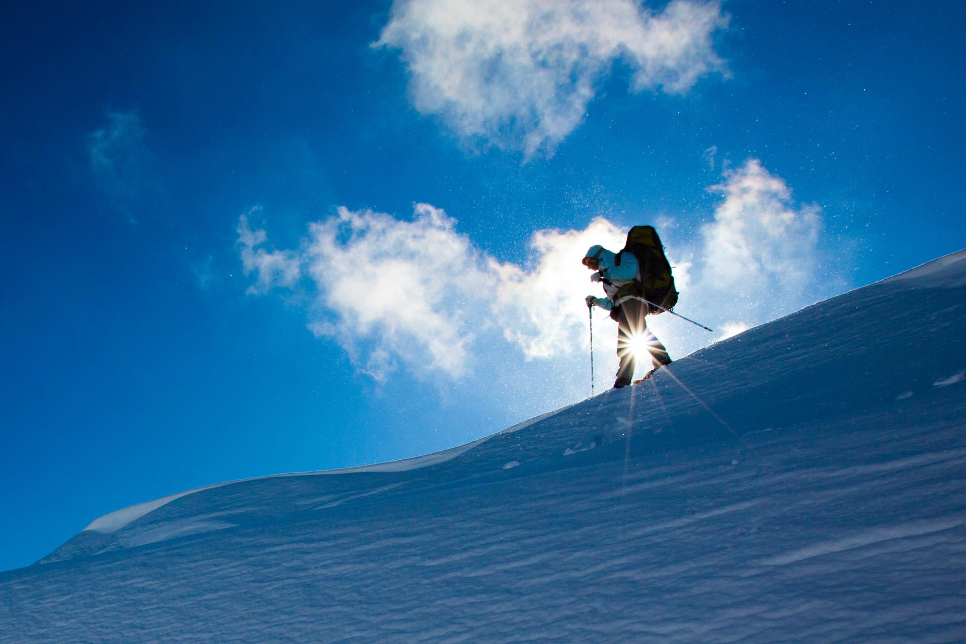 Krvavec - snow shoeing