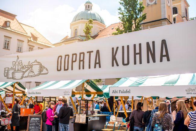 Ljubljana citytrip eten