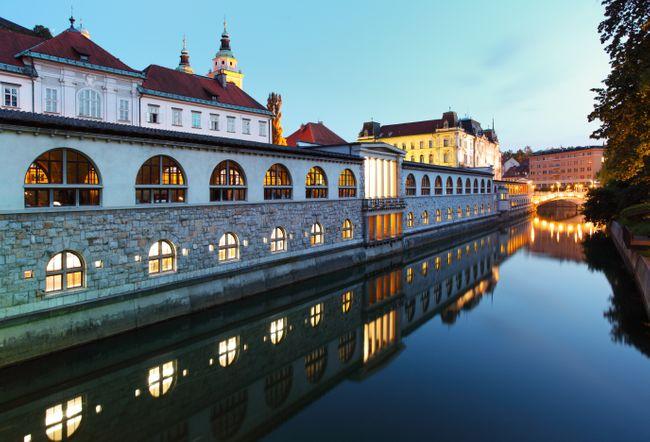 markt Ljubljana citytrip