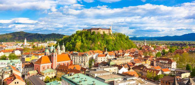 kasteel Ljubljana citytrip