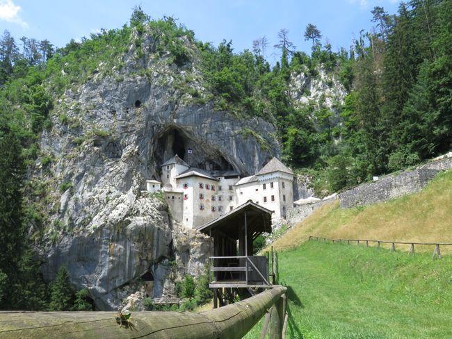 Predjama kasteel Slovenie