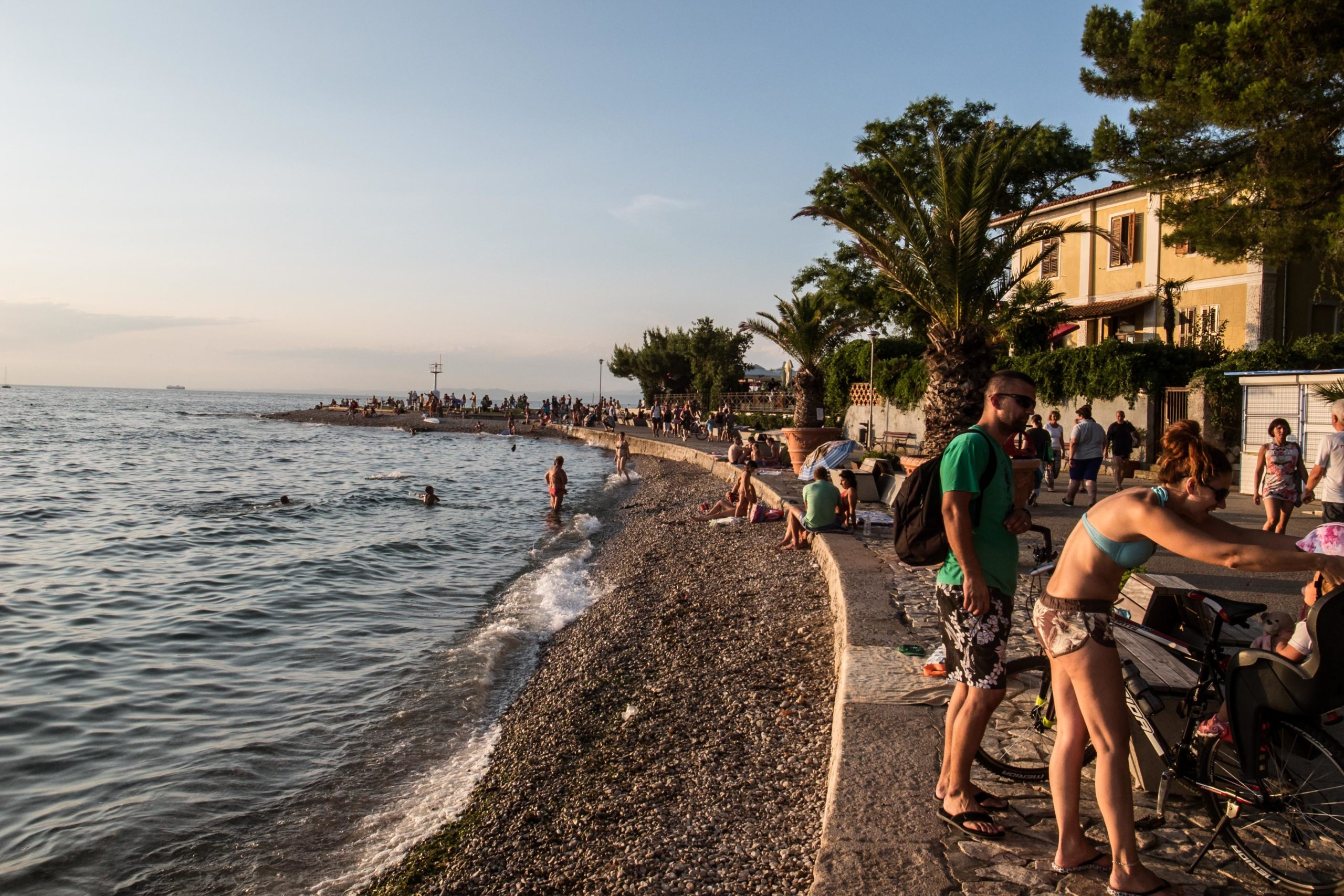 izola strand vakantie slovenie