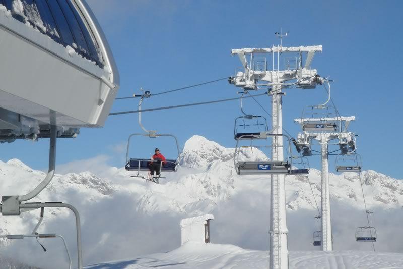 Vogel - ski lifts