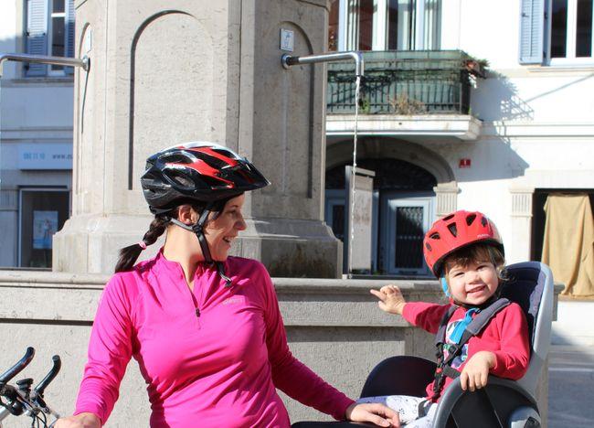 fiets herfstvakantie Slovenie