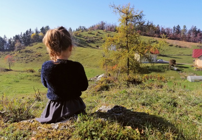najaar Slovenie met kind