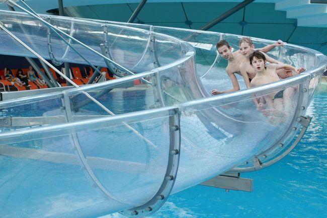 zwemparadijs Slovenie glijbaan