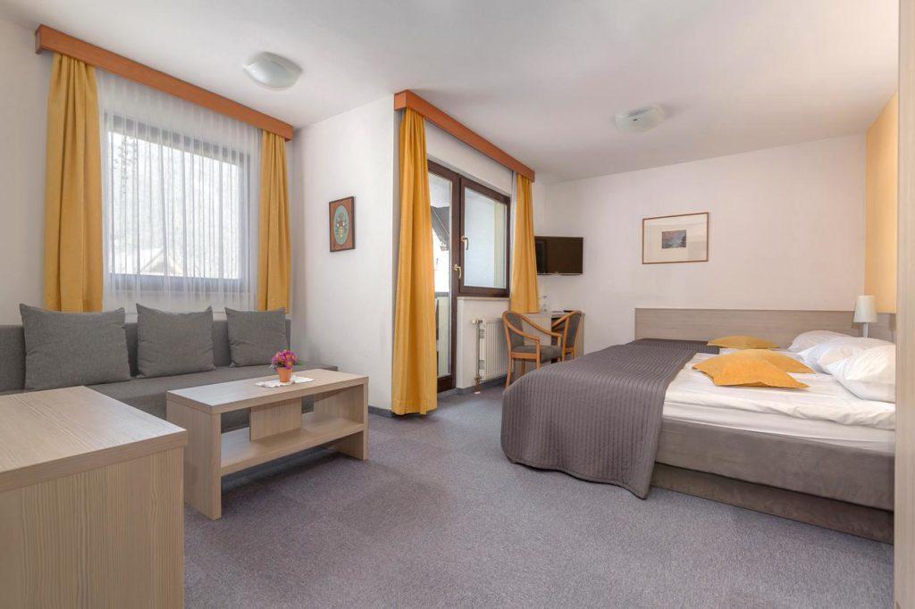 Miklic hotel room