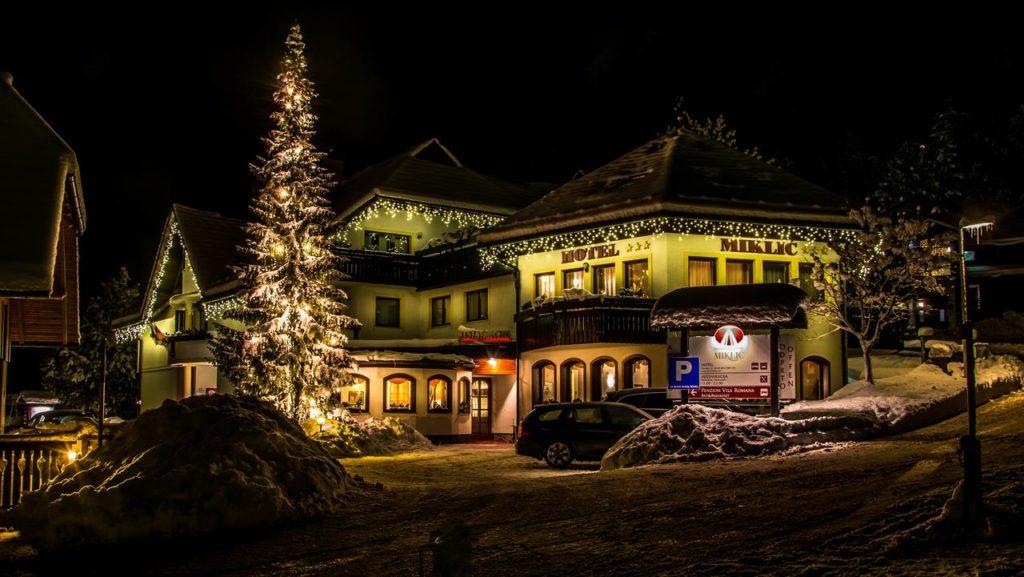 Miklic hotel winter