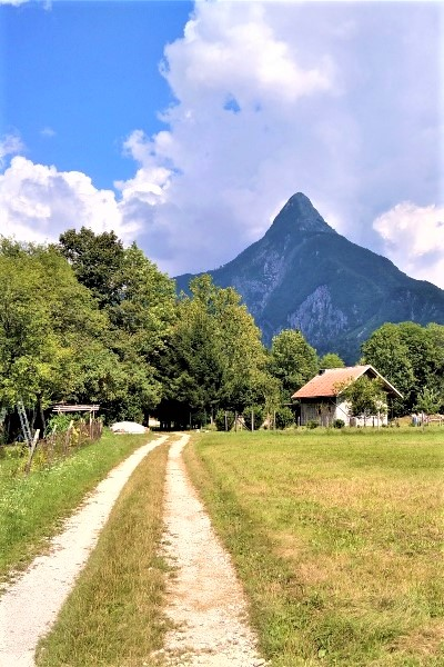 Juliana Trail bij Bovec