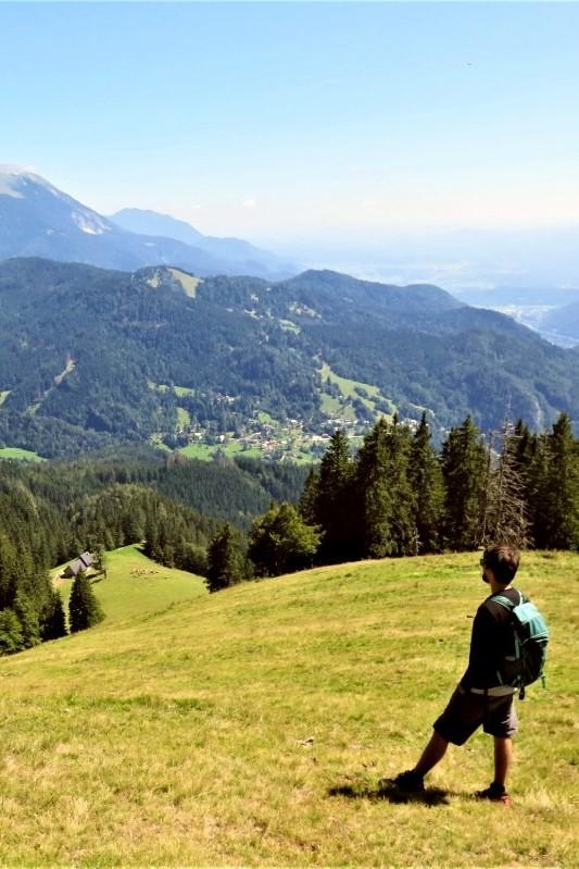 familiewandeling Slovenie
