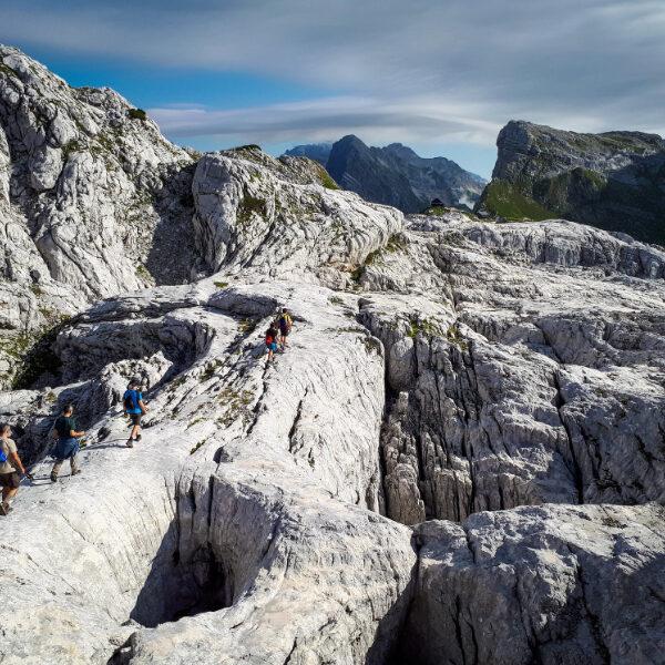 Hike in Triglav Nationaal Park