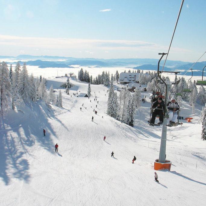 Krvavec - ski lifts