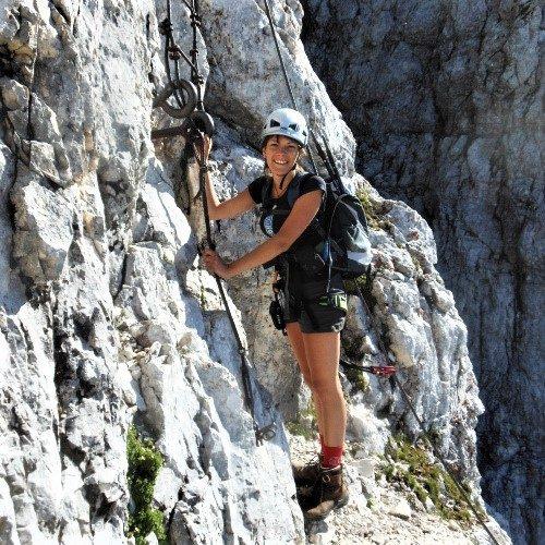 Medeja hiken in Slovenie