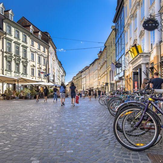 fietsreis Slovenie en Ljubljana
