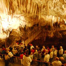trekpleister grotten van Postojna in Slovenië; foto bron MijnSlovenië