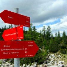 wandelen in Slovenië; bron Mijn Slovenië