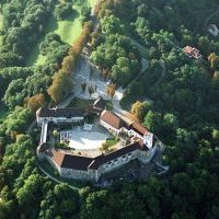 ljubljana kasteel, bron D. Wedam, MijnSlovenie